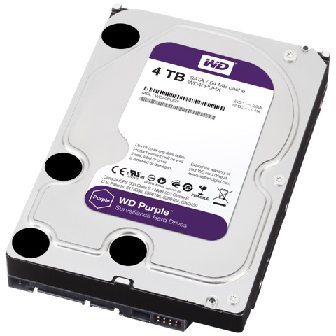 HARD DISC 4T WD PURPLE