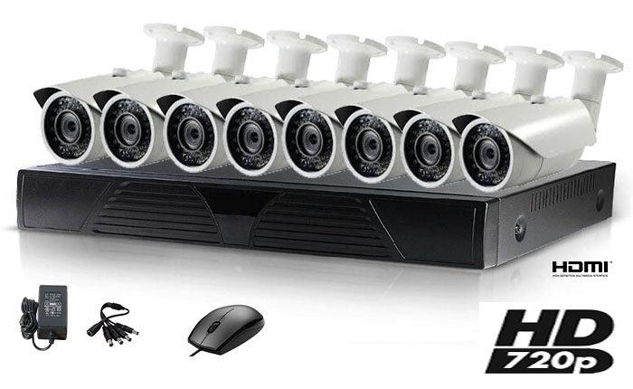 Set 8 kamere BULET HD 1